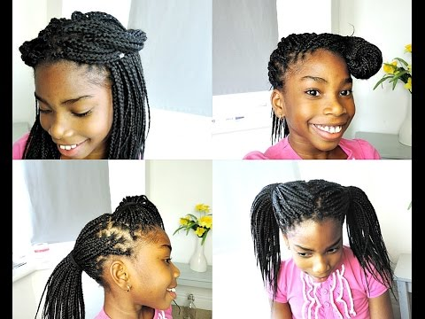 How To Style Boxbraids Hairstyles By Her