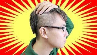 俺史上最高にオシャレ!髪型を思いっきり変えてみた! / 黒髪ツーブロックベリーショート thumbnail