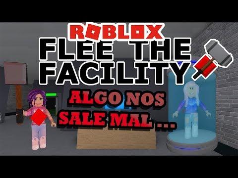 ROBLOX FLEE THE FACILITY 🤯 Algo SALE MAL😞😟........Roblox