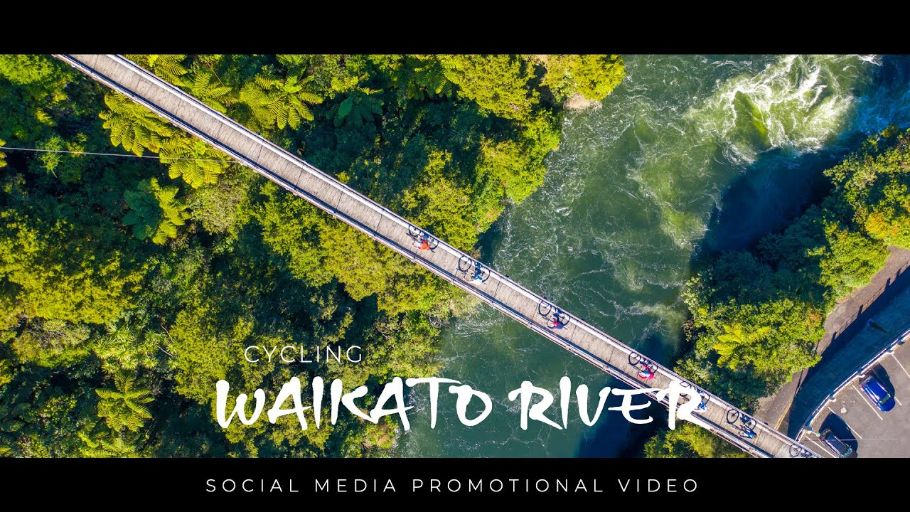 CYCLING the Waikato River trails NEW ZEALAND
