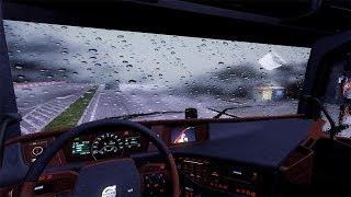 ETS2 Rain Mod (Euro Truck Simulator 2)