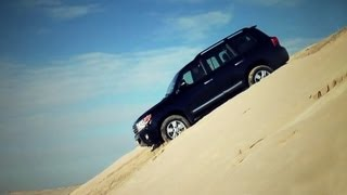 Toyota Land Cruiser 200. Тест-драйв