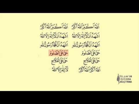 Ezan Okunuşu Hicaz Makamı Dinle (Arapça Yazılı)