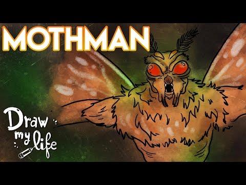 MOTHMAN | El Hombre POLILLA | Draw My Life
