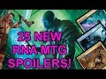 Another 25 Brand New RNA Magic The Gathering Cards!