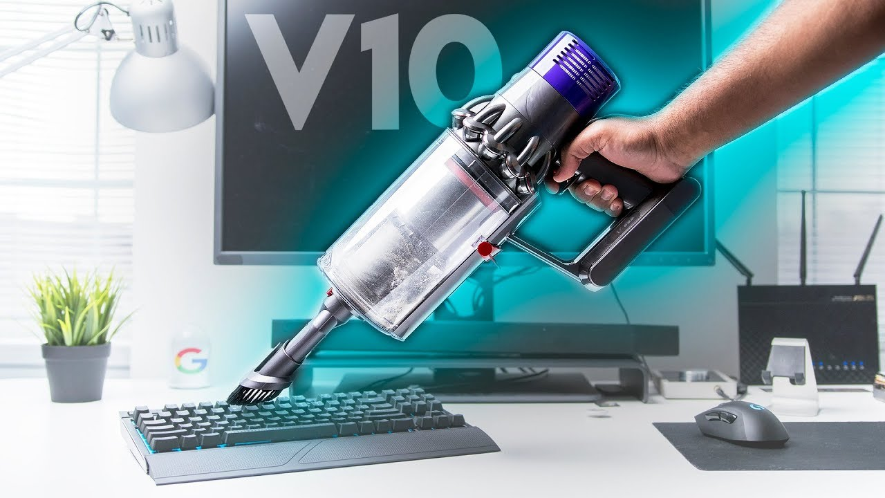 upgrading the office vacuum dyson cyclone v10 youtube. Black Bedroom Furniture Sets. Home Design Ideas