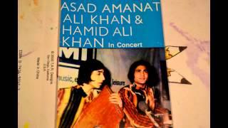 HOTHON PE KABHI UNKE   LIVE MEHFIL BY  ASAD AMANAT ALI KHAN