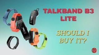 Talkband B3 Lite Quick Overview