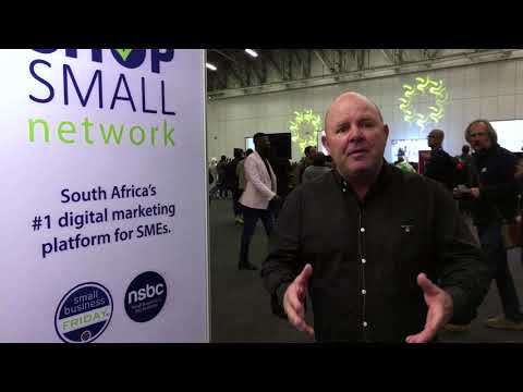 Mike Anderson at My Business Expo - Cape Town 2017