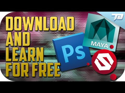 How to Download and Learn 3D Programs FREE and LEGALLY