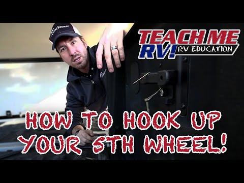 fc69ed414df1 Teach Me RV! How to hook up your Fifth Wheel! - YouTube