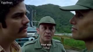 المشهد التاريخي في مسلسل ناركوس