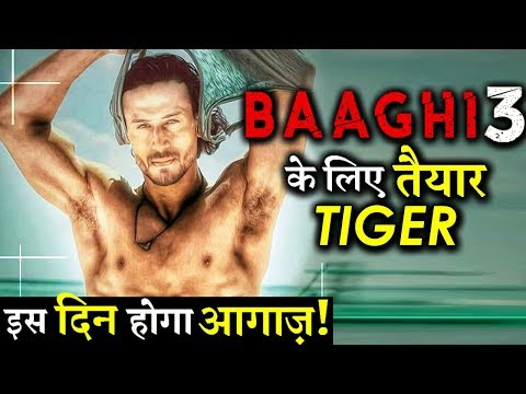 Tiger Shroff –Shraddha Kapoor All Set For Baaghi 3; Shooting To Begin In July!