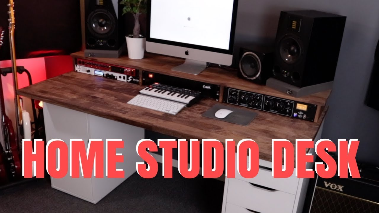 home studio desk ikea