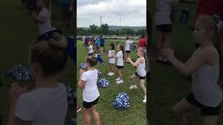 Molly Burum cheering