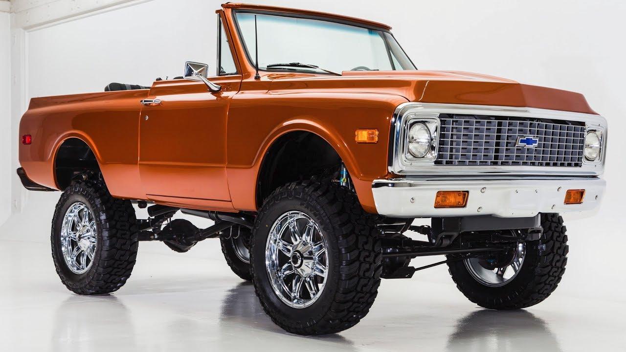 Blazer 1972 chevy k5 blazer : 1972 Chevy K5 Blazer - YouTube