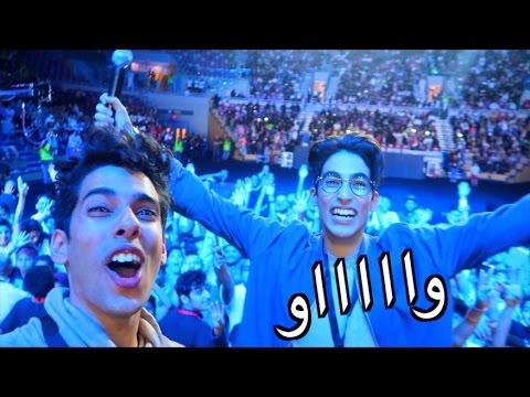 وسويناها قدام ٦،٠٠٠ شخص!!!   أول فان فيست في الشرق الاوسط