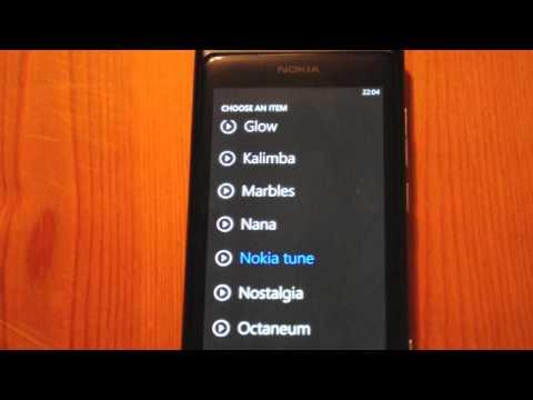Nokia Windows Phone ringtone