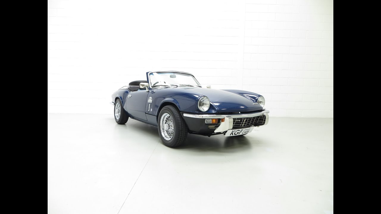 A Fantastic Enthusiast Owned Triumph Spitfire Mkiv Presented In