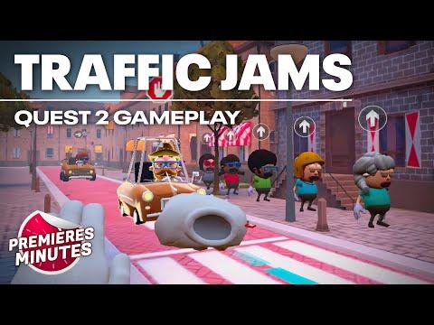 Traffic Jams - Gameplay Oculus Quest | Quest 2