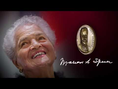 2018 Taft Medal of Notable Achievement: Marian A. Spencer