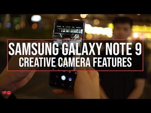 Samsung Galaxy Note 9 | Pro Mode, Super Slow-Mo, Live Focus