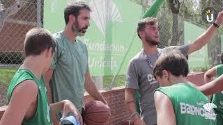 Campus Fundación Unicaja 2019 T2: Visita Berni Rodríguez al Campus
