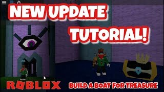 NEW UPDATE - King Chest - Potions - TUTORIAL - Build a Boat for Treasure - Roblox