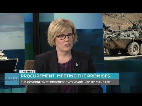 """The Big 5"" - Carla Qualtrough on Military Procurement"