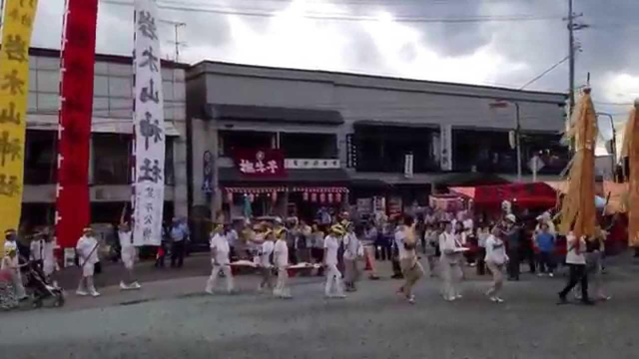 2013 お山参詣 十面沢お山の会 -...