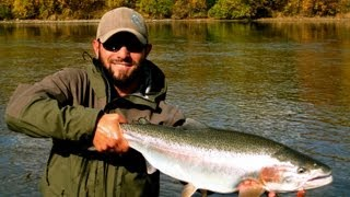 ALASKA ON THE FLY - Fly Fishing for Monster Rainbows!!