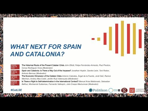 CatLSE Live Stream - The Historical Roots of the Present Catalan Crisis