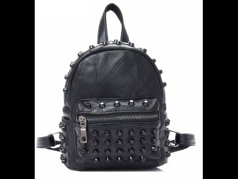 Рюкзак из натуральной кожи и классный снич к нему
