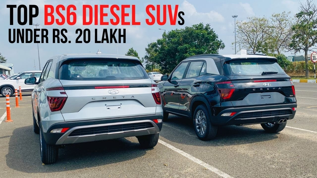 Top Bs6 Diesel Suv Under Rs 20 Lakh In India Youtube
