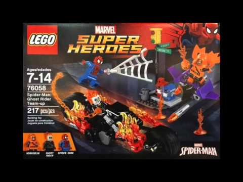 Lego Set 76058 SM ghost Rider Teamup Preview! - YouTube