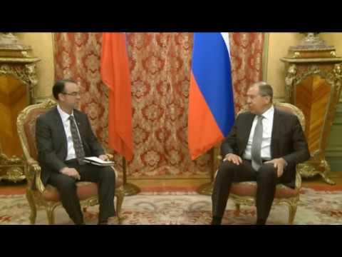 С.Лавров и А.Каэтано| Sergey Lavrov & A. Caetano