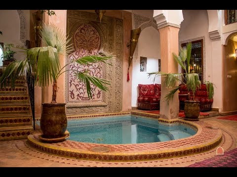 Quick Tour Of A Beautiful Riad