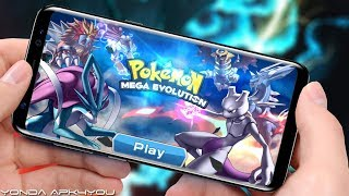 New Pokemon Games! Pokemon Mega Evolution - Android IOS Gameplay