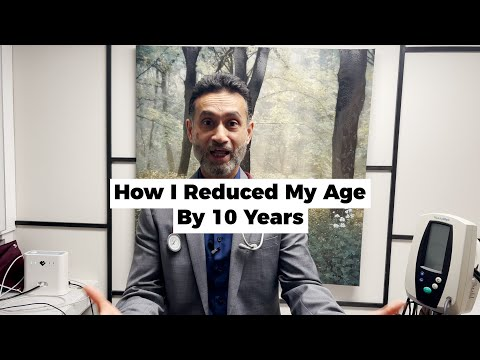 How To Reduced My Age By 10 Years - Increase Telomere Size