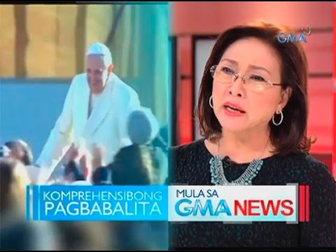 Mel Tiangco on the Papal Visit