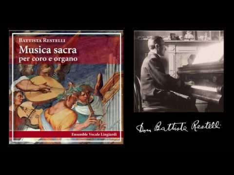 B.Restelli, MUSICA SACRA, 01 - Fuga a 3 voci su tema di Caudana