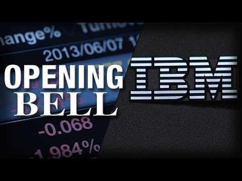 IBM Weighs on Stocks After Earnings, U.S. Markets Open the Day Down