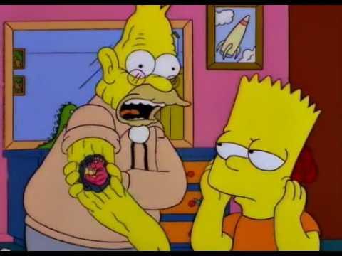 Los Simpson El Pelotón Más Belicosero Youtube