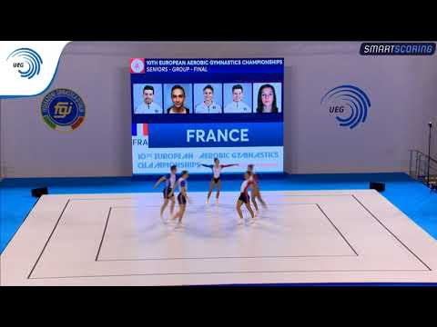 France - 2017 Aerobics Europeans, group final