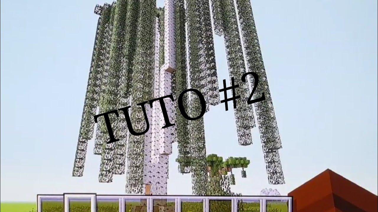 tuto arbre geant boulot //minecraft#2 - youtube