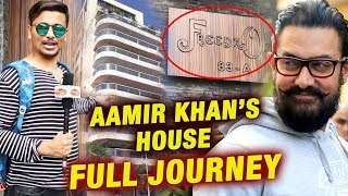 Aamir Khan House In Mumbai | FREEDA ONE | Full Journey Video | Mr. Perfectionist Of Bollywood