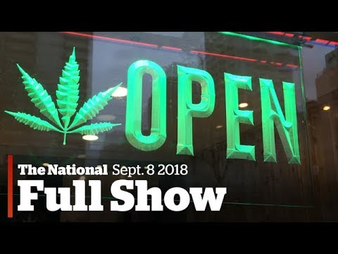 The National for Friday, September 8th: Ontario pot plan, Fl