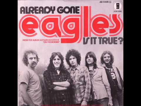 """EAGLES """"Already Gone""""   1974    HQ"""