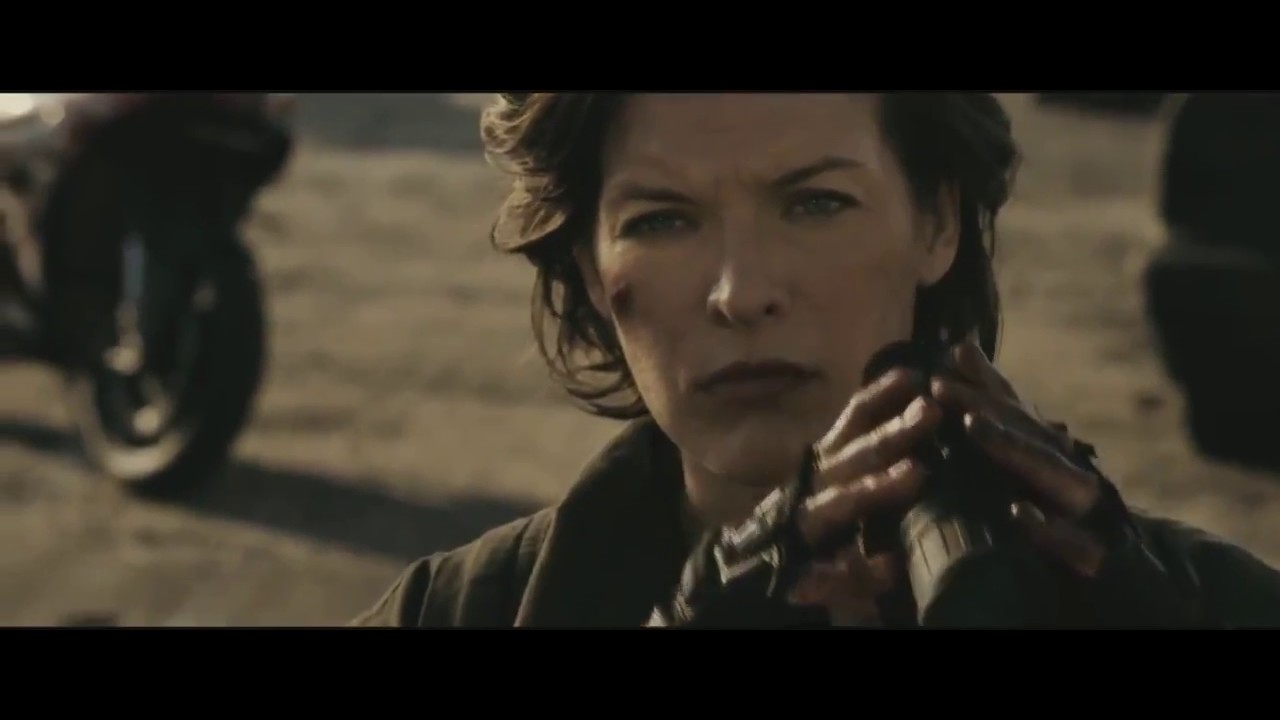 Resident Evil The Final Chapter Footage Introduces Ruby Rose As