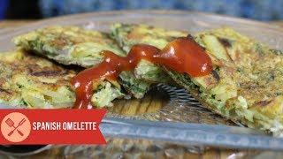 Super Tasty Spanish Omelette Recipe for breakfast and snack recipe